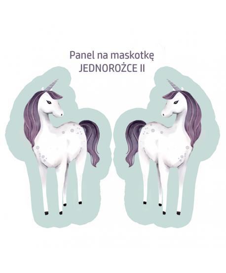 Panel na maskotkę Jednorożec II