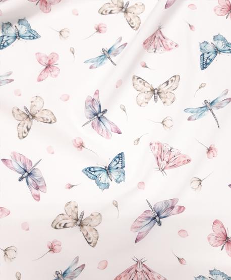 Tkanina bawełniana Motylki