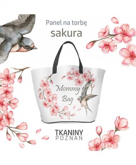 Wykrój na torbę Sakura Eko skóra