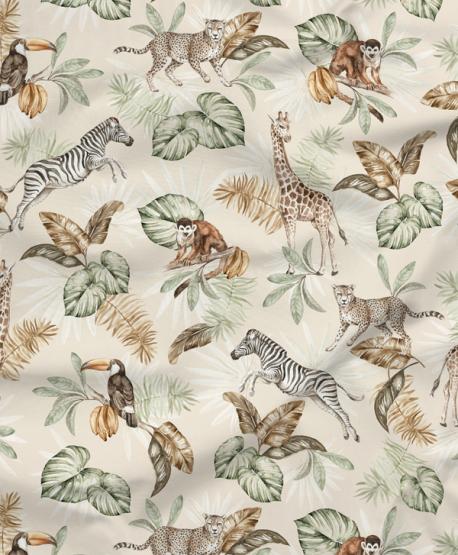 Tkanina bawełniana Safari Wild