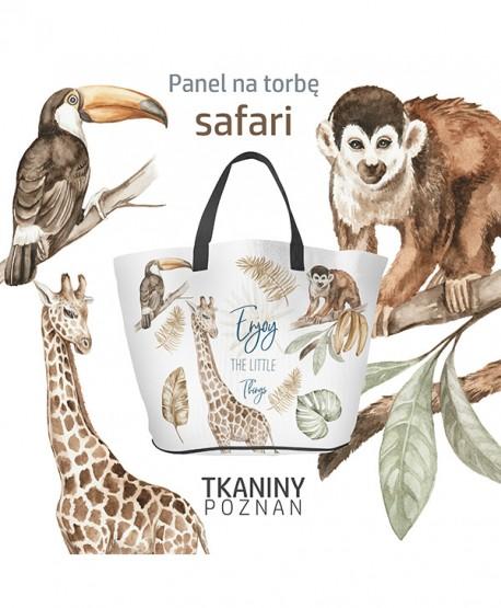 Wykrój na torbę Safari Eko skóra