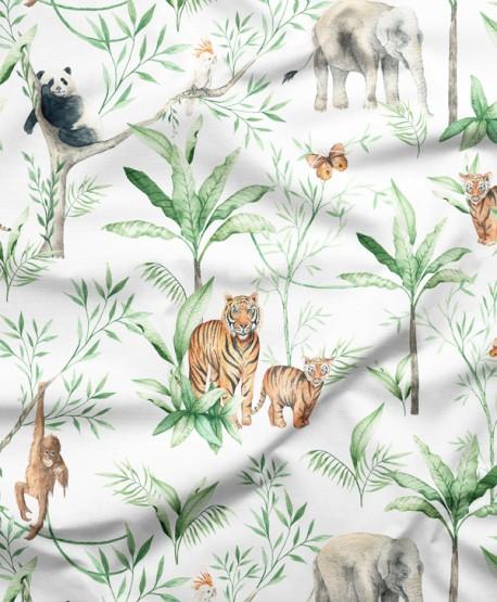Tkanina bawełniana Jungle