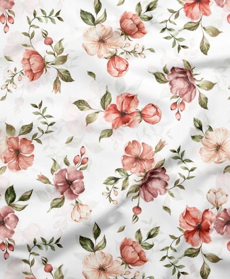 Tkanina bawełniana Dzikie Róże