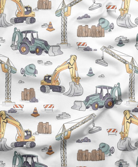 Tkanina bawełniana Budowa