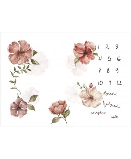 Panel na foto matę Róże Dzikie