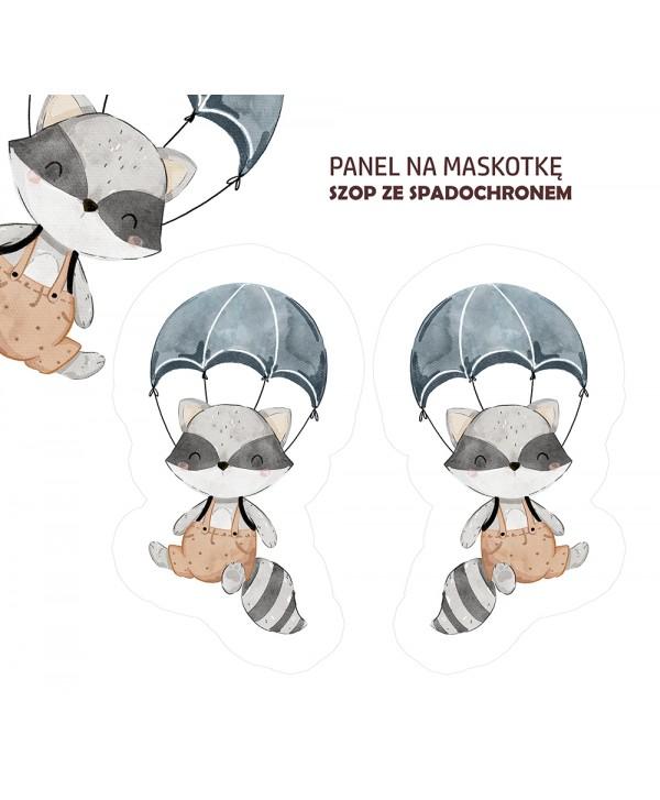 Panel na maskotkę SZOP ZE SPADOCHRONEM