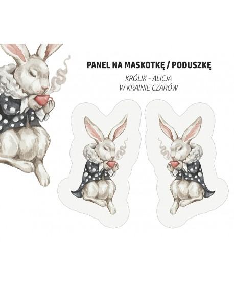 Panel na maskotkę Królik Alicja