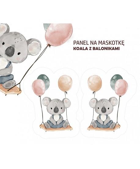 Panel na maskotkę Koala Baloniki