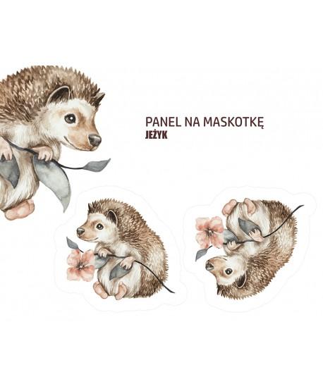 Panel na maskotkę Jeżyk