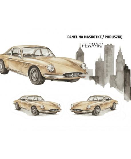 Panel na maskotkę Ferrari