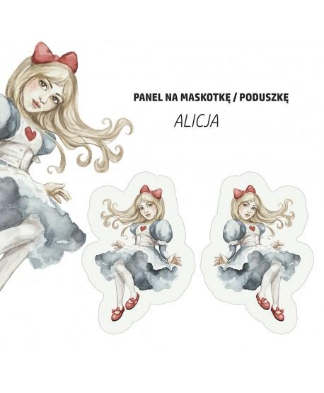 Panel na maskotkę Alicja