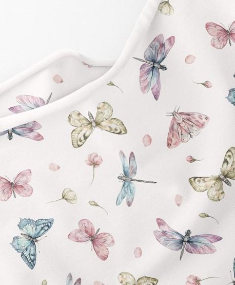 Dzianina dresowa Motylki