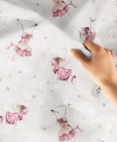 Tkanina bawełniana Myszki Dziewczynki