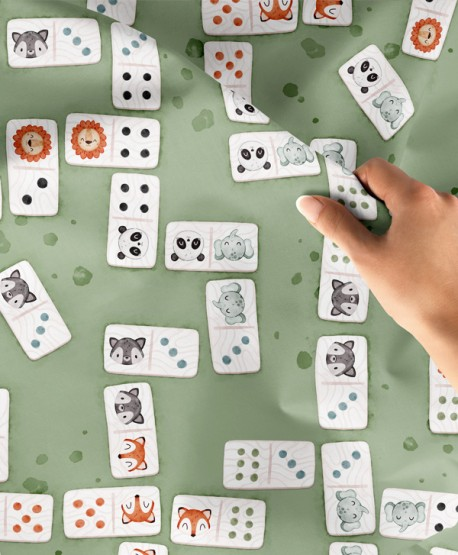 Tkanina bawełniana Domino