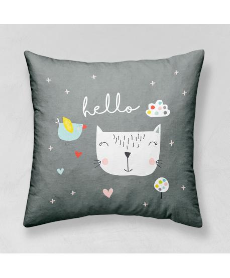 Panel poduszkowy Kot Hello