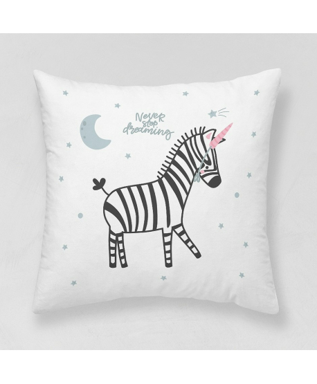 Panel poduszkowy Zebra Jednorożec
